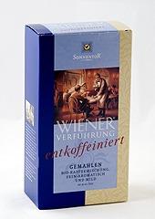 Bécsi csábítás arabica kávé, koffeinmentes, őrölt, bio, Sonnentor (500g)