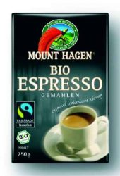 Espresso kávé, őrölt, Fair Trade, bio, Mount Hagen (250g)