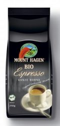 Espresso kávé, szemes, bio, Mount Hagen (250g)