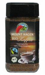 Instant kávé, Pápua Új-Guinea, Fair Trade, bio, Mount Hagen (100g)