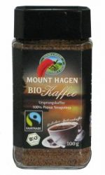 Instant kávé, Fair Trade, bio, Mount Hagen (100g)