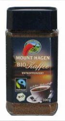 Instant kávé, koffeinmentes, bio, Mount Hagen (100g)