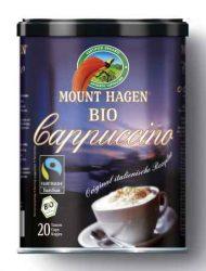 Instant cappuccino, dobozos, Fair Trade, bio, Mount Hagen (200 g)