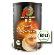 Instant cappuccino, családi kiszerelés, Fair Trade, bio, Mount Hagen (400 g)