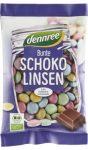 Csokoládés drazsé, tejcsokoládéval bevonva, bio, Dennree (100g) - 2022/10/30.