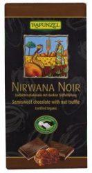 Nirvana Noir töltött, keserű csokoládé, bio, Rapunzel (100 g)