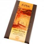 Keserű csokoládé, Ecuador, 70% kakaótartalommal, bio, Vivani (100g)