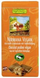 Nirvana tejcsokoládé, rizstejes, trüffel töltelékkel, bio, Rapunzel (100g)