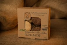 Gluténmentes kakaós-vaníliás tallér, bio, Piszkei Öko (150 g)