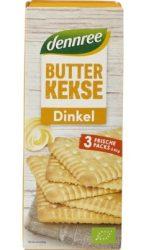 Vajas keksz tönkölybúzából, bio, Dennree (150g)