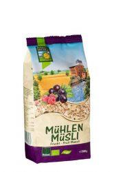 Gyümölcsös müzli, bio, Bohlsener Mühle (500g)