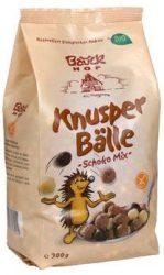 Reggeli golyók, csokis mix, bio, Bauck Hof (300g)