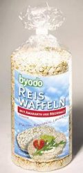 Rizsszelet amaranth, gluténmentes, bio, Byodo (100g)