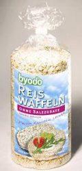 Rizsszelet natúr, sómentes, bio, Byodo (100g)