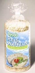 Rizsszelet quinoa só nélkűl, gluténmentes,  bio, Byodo (100g)