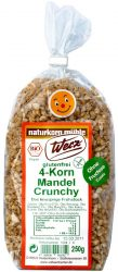 4 gabonás crunchy mandulával, bio, Werz (250g)