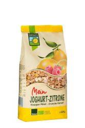 Joghurt-citrom crunchy müzli, bio, Bohlsener Mühle (425g)