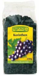 Korinthosi mazsola kék szőlőből, bio, Rapunzel (250g)
