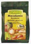 Macadamia dióbél, pirított, bio, Rapunzel (75 g)