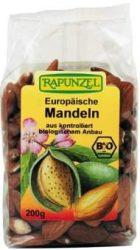 Mandula, európai, bio, Rapunzel (200 g)