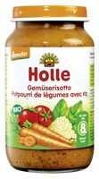 Juniorétel, zöldséges risotto, bio, Holle (220g)