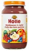 Juniorétel, alma erdei gyümölcsökkel, bio, Holle (220g)