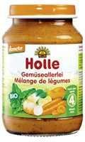 Bébiétel, vegyes zöldség, Demeter, Holle (190 g)