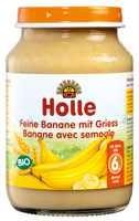 Bébiétel, finom banán búzadarával, bio, Holle (190 g)