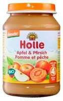 Bébiétel, őszibarack almával, Demeter, Holle (190 g)