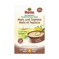 Instant kukoricakása tápiókával, bio, Holle (250 g) ( 4 hónapos kortól)