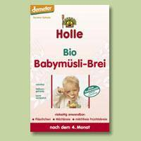 Müzli babáknak, bio, Holle (250g)