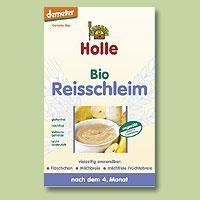Instant rizskása, bio, Holle (250g)