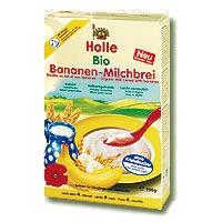 Instant tejkása, banános, bio, Holle (250g)