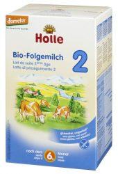 Tehéntej alapú csecsemő tápszer, 2-es, bio, Holle (600g)