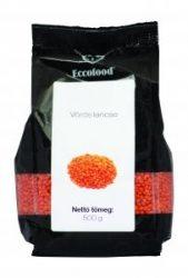 Vörös lencse, Eccdofood (500 g)