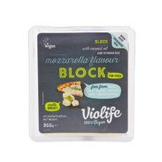 Növényi sajt pizzához, mozzarella ízű, olvadós, Violife