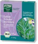 Gyógynövény bonbon zsályával, bio, Fitne (50 g)
