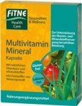 Multivitamin-Ásványi anyag kapszula, Fitne (60 db)