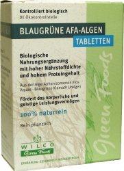 Kékzöld AFA alga tabletta, leveles, bio, Wilco (60db)