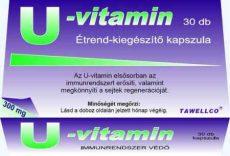 U-vitamin, Tawellco (30 db- os)