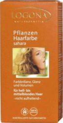 Henna növényi hajfesték por, karamellszőke, Logona (100g)