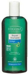Gingko regeneráló sampon, száraz hajra, bio, Logona (250ml)