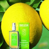 Citrus frissítő deo spray, bio, Weleda (100ml)