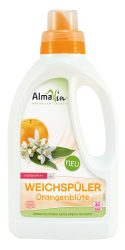 Lágy öblítőszer narancsvirág illattal, bio, AlmaWin (750ml - 30 öblítéshez)