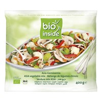 Ázsia wok zöldségmix, fagyasztott, bio, Bio Inside (400g)