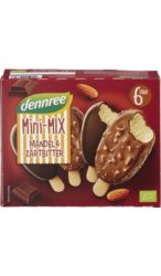 Tölcséres fagylalt, vanília-eper, bio, Dennree (110ml) - 2021/11/12.
