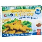 Mini dínók csirkehúsból, fagyasztott, bio, Freiland (180g)