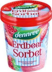 Epres sorbet, fagyasztott, bio, Dennree (500ml)