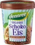 Vegán csokoládé fagylalt rizstejből, bio, Dennree (500ml) - 2023/01/07.
