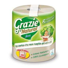 Háztartási papírtörlő (1 réteg,ű 150 lapos), öko, Grazie (1 tekercs)